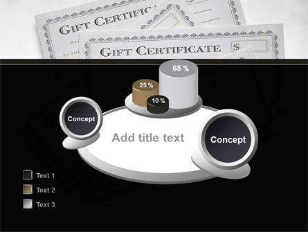 Gift Certificate PowerPoint Template Slide 16