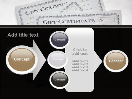 Gift Certificate PowerPoint Template Slide 17