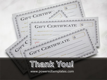 Gift Certificate PowerPoint Template Slide 20