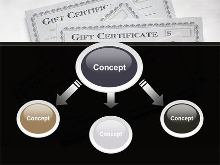 Gift Certificate PowerPoint Template, Slide 4, 09270, Financial/Accounting — PoweredTemplate.com