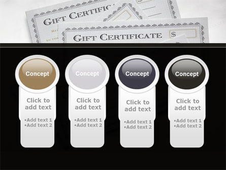 Gift Certificate PowerPoint Template Slide 5