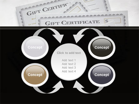 Gift Certificate PowerPoint Template Slide 6