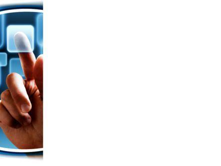Touchscreen PowerPoint Template, Slide 3, 09271, Technology and Science — PoweredTemplate.com