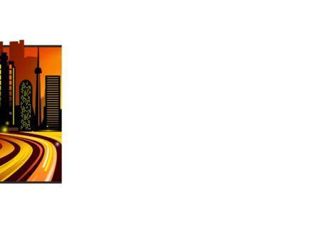 City Landscape PowerPoint Template, Slide 3, 09272, Construction — PoweredTemplate.com