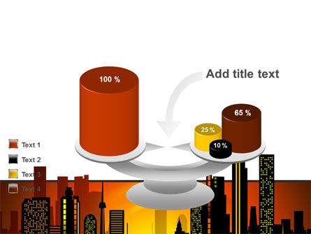 City Landscape PowerPoint Template Slide 10