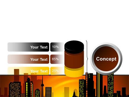 City Landscape PowerPoint Template Slide 11