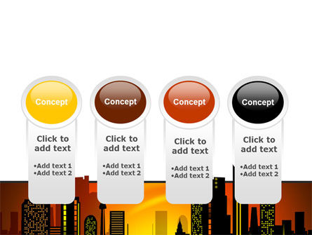 City Landscape PowerPoint Template Slide 5