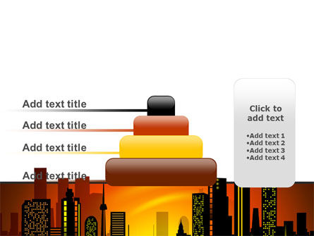 City Landscape PowerPoint Template Slide 8