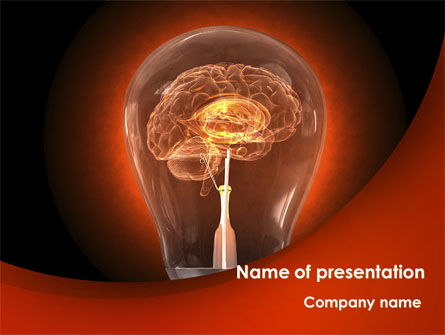 Consulting: Artificial Brain PowerPoint Template #09273