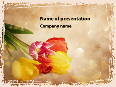 Tulip PowerPoint Template