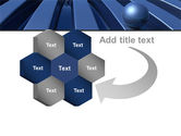 Blue Funnel PowerPoint Template#11