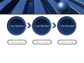 Blue Funnel PowerPoint Template#5