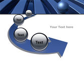 Blue Funnel PowerPoint Template#6