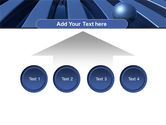 Blue Funnel PowerPoint Template#8