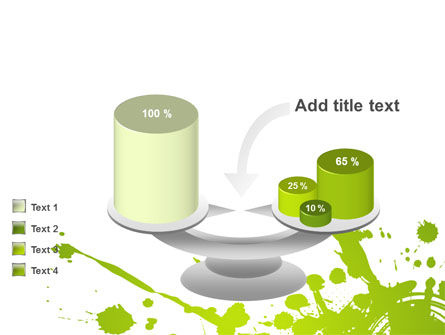 Green Splash PowerPoint Template Slide 10