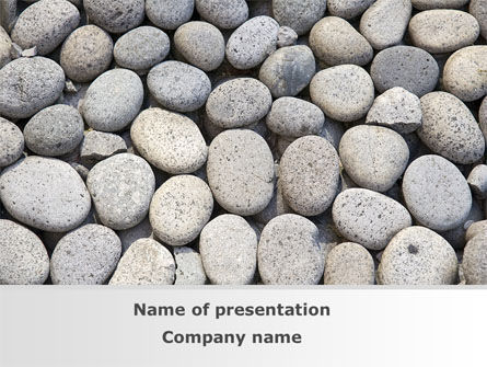 Pebble PowerPoint Template, 09282, Nature & Environment — PoweredTemplate.com