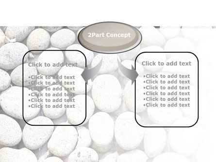 Pebble PowerPoint Template, Slide 4, 09282, Nature & Environment — PoweredTemplate.com