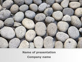 Nature & Environment: Pebble PowerPoint Template #09282