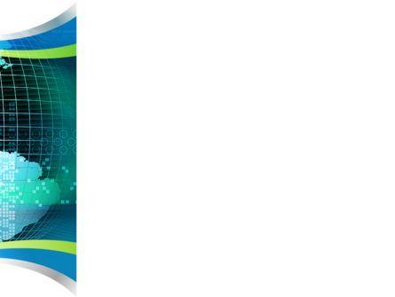 Global Digital Technologies PowerPoint Template, Slide 3, 09285, Global — PoweredTemplate.com