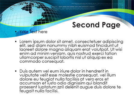 Global Digital Technologies PowerPoint Template, Slide 2, 09285, Global — PoweredTemplate.com