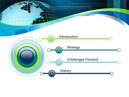 Global Digital Technologies PowerPoint Template, Slide 3, 09285, Global — PoweredTemplate.com