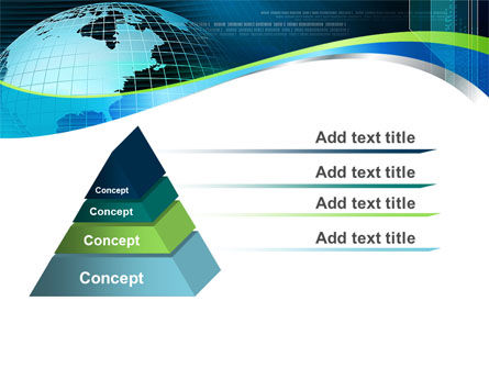 Global Digital Technologies PowerPoint Template, Slide 4, 09285, Global — PoweredTemplate.com