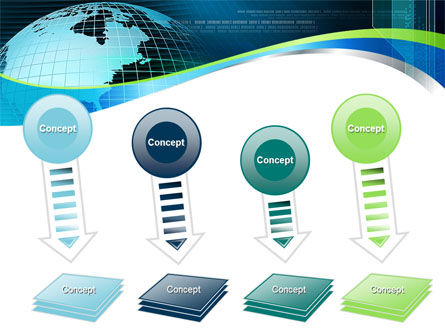 Global Digital Technologies PowerPoint Template Slide 8