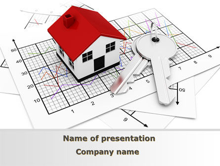 Real Estate: Kabine PowerPoint Vorlage #09291