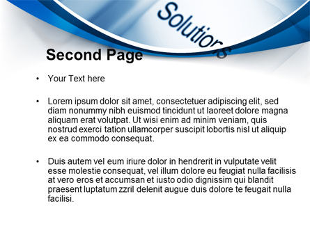 Key Of Solutions PowerPoint Template, Slide 2, 09292, Computers — PoweredTemplate.com
