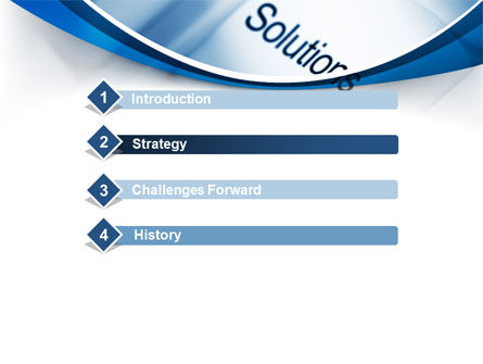 Key Of Solutions PowerPoint Template, Slide 3, 09292, Computers — PoweredTemplate.com