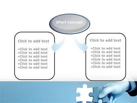 Blue Puzzle Solving PowerPoint Template Slide 4