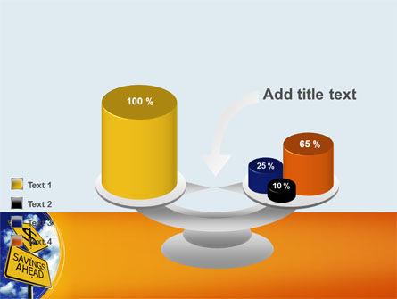Saving Ahead PowerPoint Template Slide 10