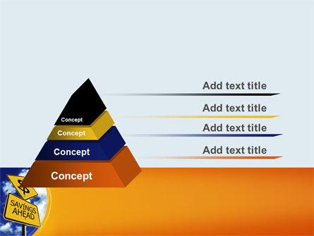 Saving Ahead PowerPoint Template Slide 12