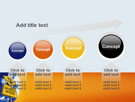 Saving Ahead PowerPoint Template Slide 13