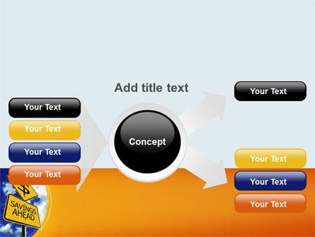 Saving Ahead PowerPoint Template Slide 14