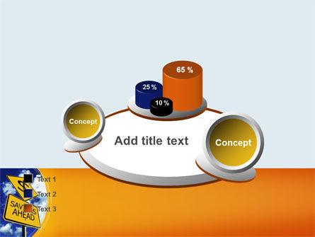 Saving Ahead PowerPoint Template Slide 16