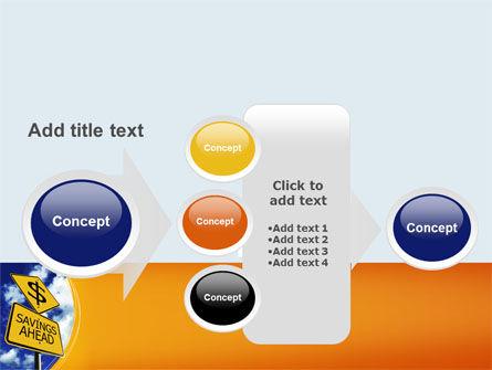 Saving Ahead PowerPoint Template Slide 17