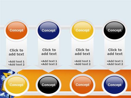 Saving Ahead PowerPoint Template Slide 18