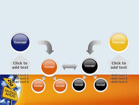 Saving Ahead PowerPoint Template Slide 19