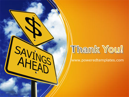 Saving Ahead PowerPoint Template Slide 20
