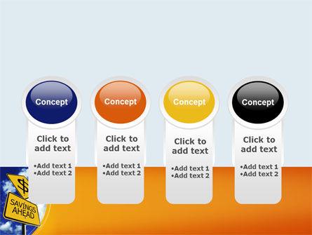 Saving Ahead PowerPoint Template Slide 5