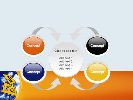 Saving Ahead PowerPoint Template Slide 6