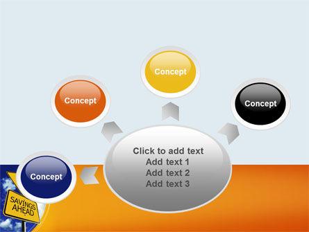 Saving Ahead PowerPoint Template Slide 7