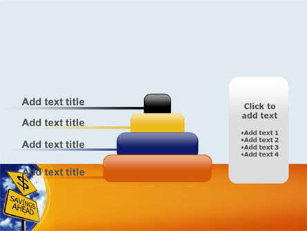 Saving Ahead PowerPoint Template Slide 8