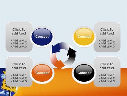 Saving Ahead PowerPoint Template Slide 9