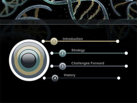 DNA Helix PowerPoint Template Slide 3