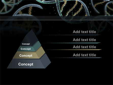 DNA Helix PowerPoint Template, Slide 4, 09297, Technology and Science — PoweredTemplate.com