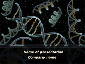 Technology and Science: DNA Helix PowerPoint Template #09297