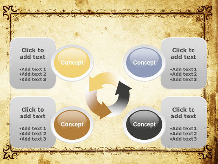 Business Consulting Compass PowerPoint Template Slide 9