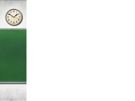 Blackboard In A Classroom PowerPoint Template, Slide 3, 09302, Education & Training — PoweredTemplate.com